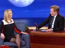 Lisa Kudrow on Conan