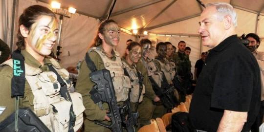 Israeli soldier girls 155