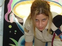 Israeli soldier girl 62 c