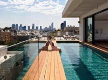 Swimming pool in Tel Aviv