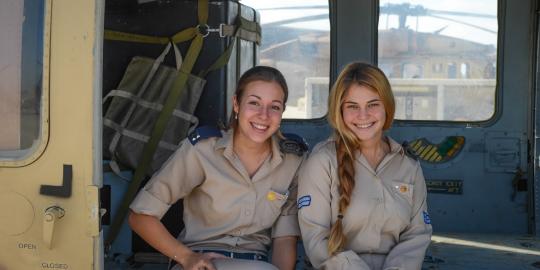 Israeli soldier girls 227 c