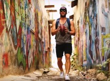 Julian Edelman in Israel
