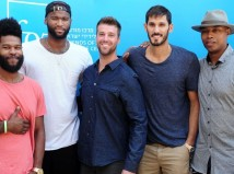 NBA stars in Israel