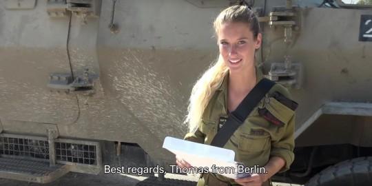 Israeli soldier girl 372
