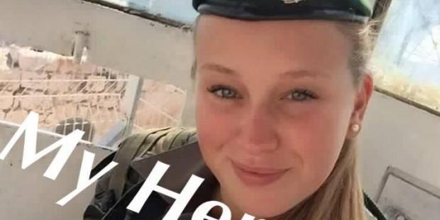 Israeli soldier girl 373 c