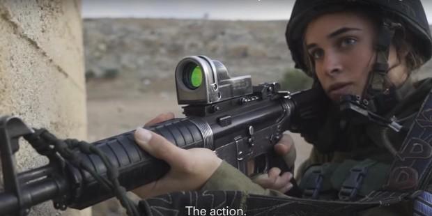Israeli soldier girl 373