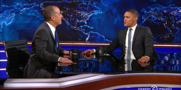 Jerry Seinfeld on the Daily Show